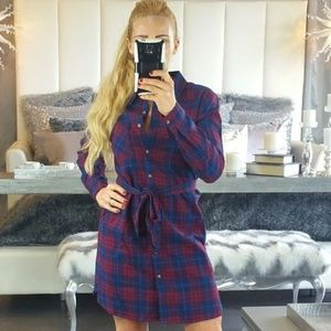 BAILEY Plaid Dress